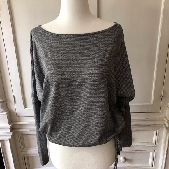 Tops - Long Sleeve Train Top with Cut Out